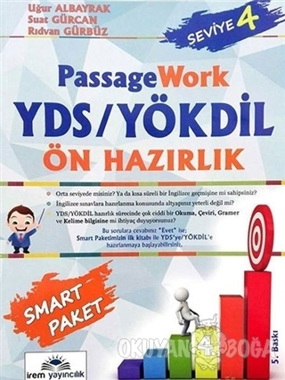 YDS YÖKDİL Passage Work Ön Hazırlık Seviye 4