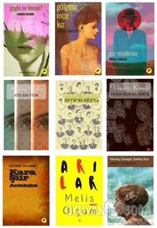 Yeni Türk Yazarların Seti (9 Kitap Takım) - Candan Selman - Kafe Kültü