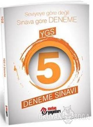 YGS 5 Deneme Sınavı - Kolektif - Metin Yayınları