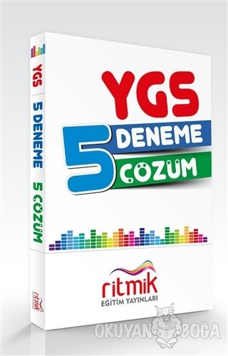 YGS Çözümlü 5 Deneme Seti - Kolektif - Ritmik Eğitim Yayınları