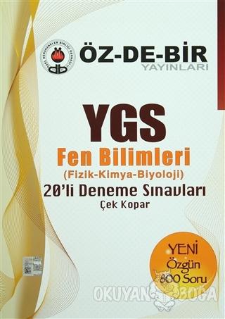 YGS Fen Bilimler Deneme Sınavları - Kolektif - Öz-De-Bir Yayınları