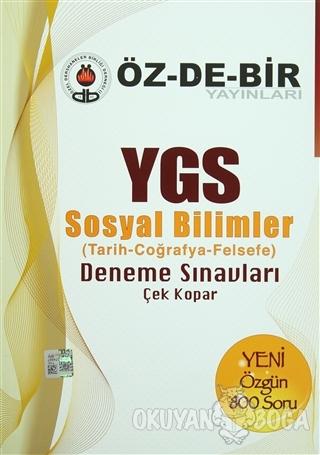YGS Sosyal Bilimler Deneme Sınavları - Kolektif - Öz-De-Bir Yayınları