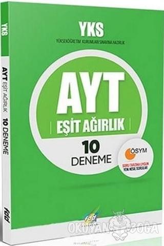 2019 YKS AYT Eşit Ağırlık 10 Deneme - Kolektif - Fdd Yayınları
