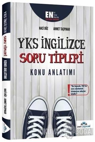 YKS İngilizce Soru Tipleri Konu Anlatımı - Ahmet Taşpınar - İrem Yayın