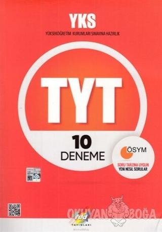 YKS TYT 10 Deneme - Kolektif - Fdd Yayınları