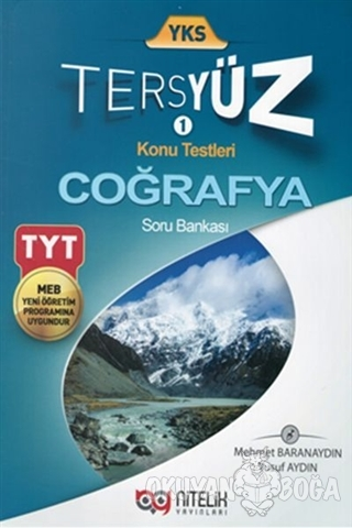 YKS TYT Coğrafya Tersyüz Soru Kitabı - Yusuf Aydın - Nitelik Yayınları