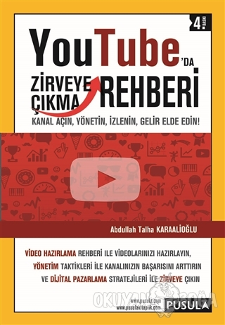 YouTube'da Zirveye Çıkma Rehberi - Abdullah Talha Karaalioğlu - Pusula