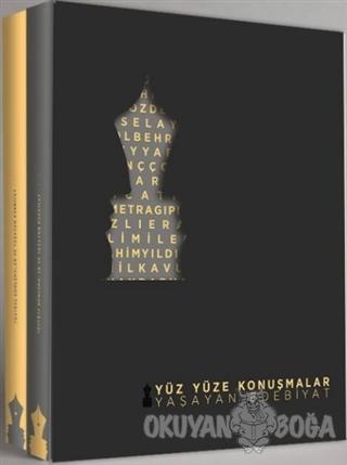 Yüz Yüze Konuşmalar Yaşayan Edebiyat (2 Cilt Takım) - Cafer Vayni - An