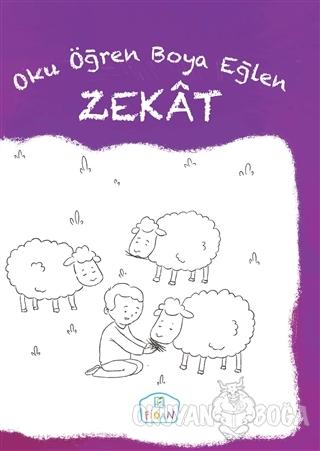 Zekat - Oku Öğren Boya Eğlen - Cüneyt Dal - Fidan Yayınları