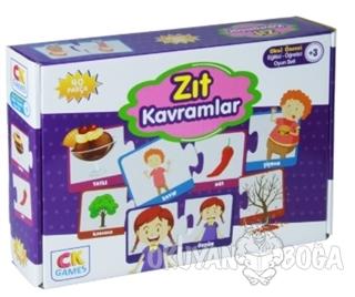 Zıt Kavramlar - Okul Öncesi Eğitici-Öğretici Oyun Seti (+3 Yaş) - - CK