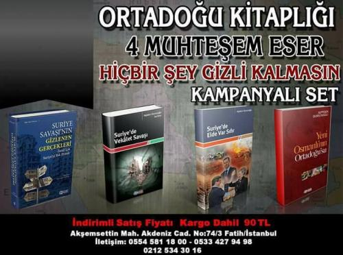 ORTADOĞU KİTAPLIĞI 4 KİTAP Alptekin Dursunoğlu