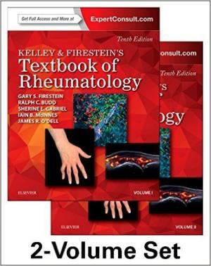 Kelley and Firestein's Textbook of Rheumatology, 2-Volume Set, 10e