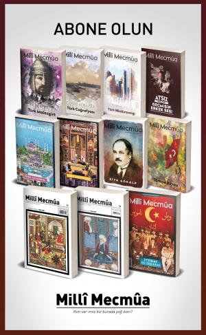 Milli Mecmua Dergisi 2020 Yılı Aboneliği