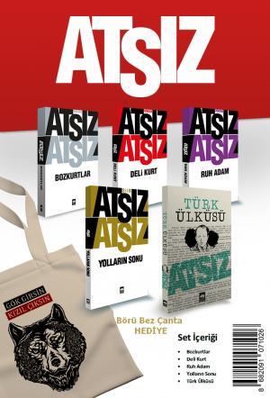 Ötüken Kitap | Ötüken Atsız Seti (5 Kitap) Börü Bez Çanta Hediyeli