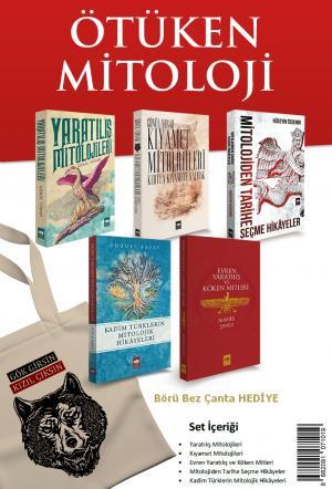 Ötüken Mitoloji Seti (5 Kitap) Börü Bez Çanta Hediyeli