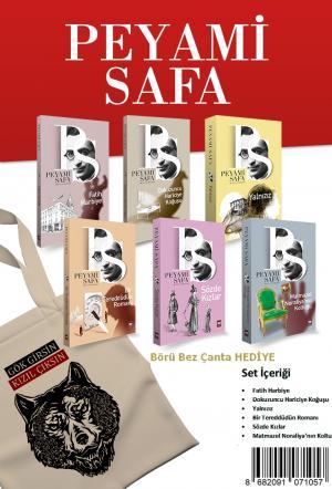 Ötüken Peyami Safa Seti (6 Kitap) Börü Bez Çanta Hediyeli