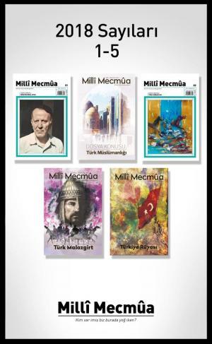 Milli Mecmua Dergisi 2018 Yılı Seti 5 Sayı