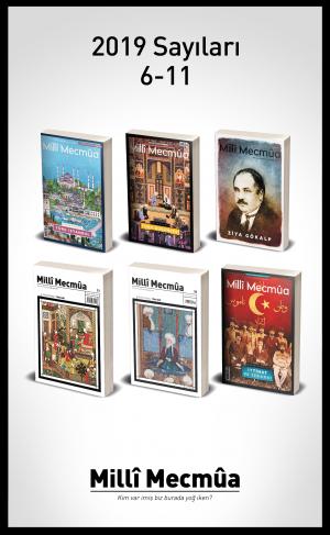 Milli Mecmua Dergisi 2019 Yılı Seti 6 Sayı