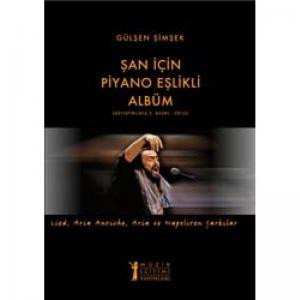 Şan İçin Piyano Eşlikli Albüm (CD'li)