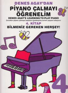 Denes Agay'dan Piyano Çalmayı Öğrenelim 4. Kitap
