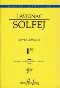 Lavignac Solfej Şan Çalışmaları 1E