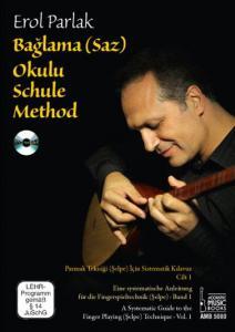 Bağlama (Saz) Okulu Schule Method (DVD'li)