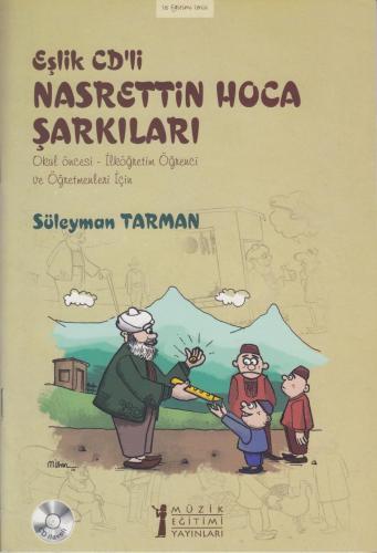 Eşlik CD'li Nasrettin Hoca Şarkıları %10 indirimli Süleyman Tarman