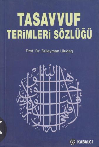 Tasavvuf Terimleri Sözlüğü %10 indirimli Süleyman Uludağ