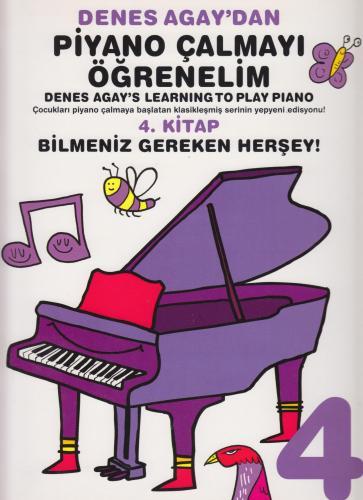 Denes Agay'dan Piyano Çalmayı Öğrenelim 4. Kitap %10 indirimli Denes A