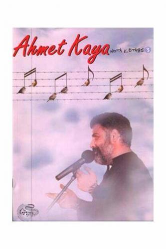 Ahmet Kaya Nota Kitabı 3 %10 indirimli Serkan Yıldız