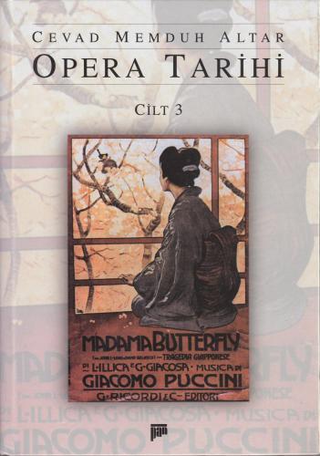 Opera Tarihi Cilt 3 Cevad Memduh Altar