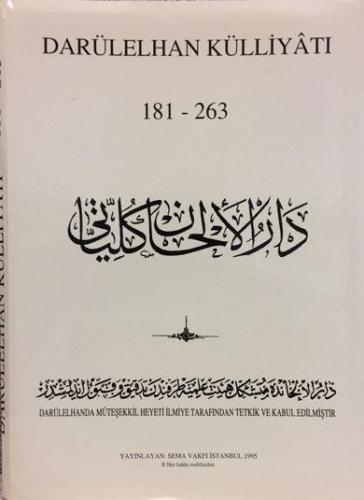 Darülelhan Külliyatı 181-263