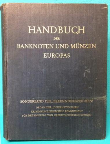 Handbuch Der Banknoten und Münzen Europas Hans Adler