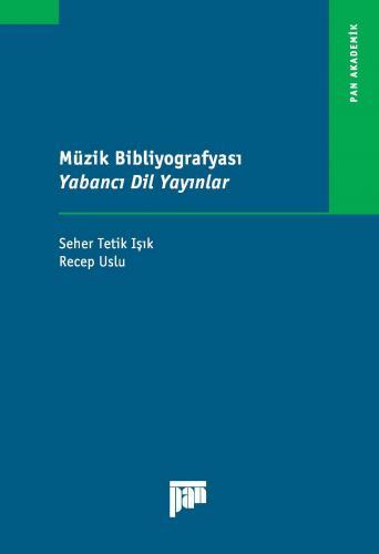 Müzik Bibliyografyası Yabancı Dil Yayınlar