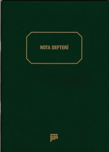 Müzik Defteri - 001