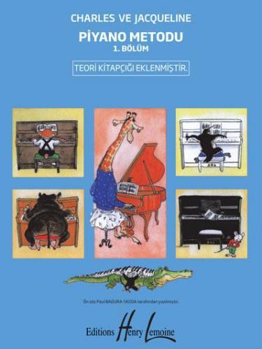 Piyano Metodu 1. Bölüm %10 indirimli Charles ve Jacqueline