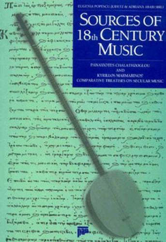 Sources Of 18th Century Music %20 indirimli Eugenia Popescu-Judetz