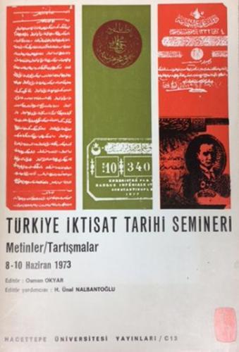 Türkiye İktisat Tarihi Semineri