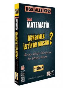 Tasarı 2021 DGS-ALES-KPSS Matematik Öğrenmek İstiyor Musun 2. Kitap