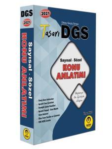 Tasarı 2021 DGS Matematik-Türkçe Konu Anlatımı Tek Kitap