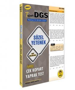 Tasarı 2021 DGS Sözel Yetenek Yaprak Test