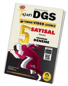 Tasarı Eğitim 2021 DGS Sayısal 5 Performans Deneme