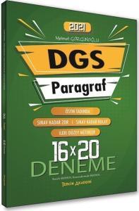 Tercih Akademi 2021 DGS Paragraf 16x20 Deneme