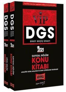 Yargı 2021 DGS VIP Sayısal-Sözel Bölüm Konu Kitabı Seti