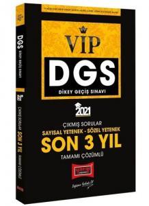 Yargı 2021 DGS VIP Sayısal Sözel Yetenek Son 3 Yıl Tamamı Çözümlü Çıkmış Sorular