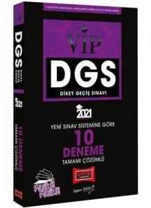 Yargı 2021 DGS VIP Yeni Sınav Sistemine Göre Tamamı Çözümlü 10 Fasikül Deneme
