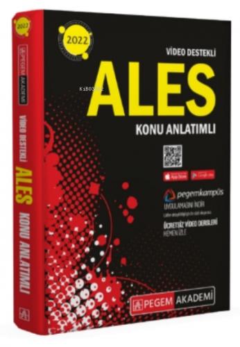 2022 ALES Konu Anlatımlı Pegem Akademi Yayıncılık Komisyon
