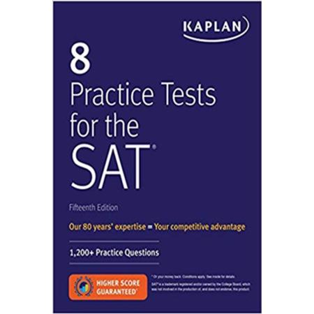 8 Practice Tests for the SAT Kaplan Komisyon