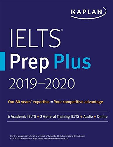 Kaplan IELTS Prep Plus 2019-2020 Kaplan Komisyon