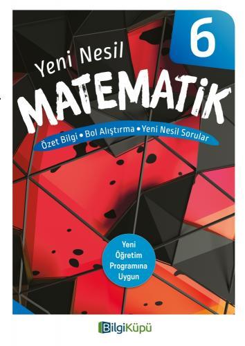 BilgiKüpü 6. Sınıf Yeni Nesil Matematik Bilgi Küpü Komisyon